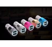 USB прикуриватель RS-5 от 12V 2,1A на 2 выхода без упаковки