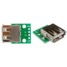 USB разъем на плате