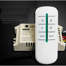 Комплект 4-х позиционный выключатель + пульт