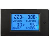 Ваттметр PZEM-021  AC 80-260 В ,ток 0-20 А