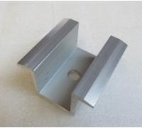 Прижим двухсторонний длина 40 мм для крепления солнечных панелей