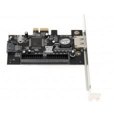 Контроллер PCI-E to SATA+ESATA+IDE
