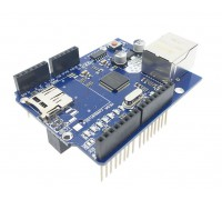 Модуль Arduino R3 W5100 Ethernet Micro SD Card