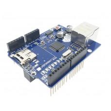 Модуль Arduino R3 W5100 Ethernet Micro SD Card