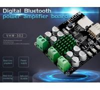 Беспроводной Bluetooth XH-M422 усилитель TPA3116D2 с поддержкой USB+TF 25 W + 25 W