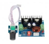 Регулятор напряжения XH-M405 DC-DC с переменным резистором на модуле XL4016 до 8А