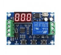 Модуль управления зарядом XH-M610 с индикатором 6-30 В с micro USB