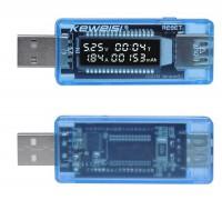 KWS-V20 USB тестер тока,напряжения,мощности и заряда (несколько режимов индикации)