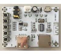 Беспроводной Bluetooth XH-M421 усилитель  с поддержкой USB+TF 3 W + 3 W