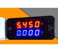 USB тестер 4-х разрядный тока и напряжения