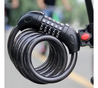 Кодовый пятизначный замок для велосипеда