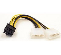 Переходник 8pin на 2x4 pin для питания видеокарты PCI Express