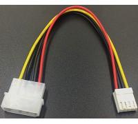 Переходник 4 pin(большой) - 4 pin(малый) для гибких дисков