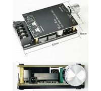 Аудио усилитель ZK-502C 2х50 Вт HI-FI на чипе TPA3116D2