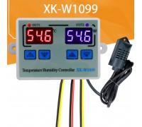 Контроллер XK-W1099 температуры 0 до +100 и влажности 220 В