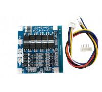 BMS контроллер 4S 3,2 V LiFePo4  12,8V 30A заряда/разряда