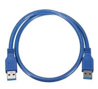 USB 3.0 AM/AM (папа-папа) 1 м синий