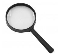 Лупа диаметр 80 мм черный каркас