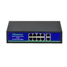 POE коммутатор SF0820FB2L  8 портов с блоком питания в комплекте