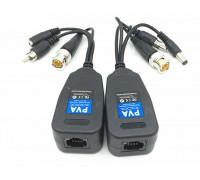 Приемо-передатчик TVI CVI video сигнала по витой паре  RJ45 (пара)