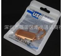Пакет для упаковки USB кабеля 115х75 мм