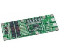 BMS контроллер 6S Li-Ion 18650 24V 40A заряда/разряда