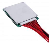 BMS контроллер 16S аккум 3,7 V Li-ion 60V 20A заряда/разряда