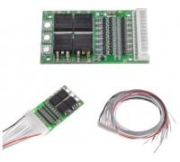 BMS контроллер 6-13S аккум 3,7 V Li-ion 24-48V 25A заряда/разряда универсальный