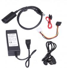 Переходник USB SATA/IDE с блоком питания