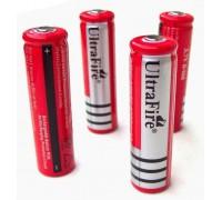 Аккумулятор 18650 7800 mAh 3,7V красный