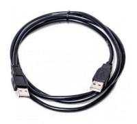 USB AM/AM (папа-папа) 1,5м черный