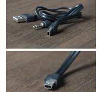 mini USB-USB/питание 3,5mm 50 см