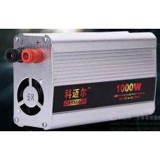 Инвертор 12V/24V to 220V 1000 W
